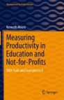 Measuring Productivity in Education and Not-for-Profits