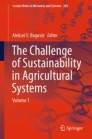 The Challenge of Sustainability in Agricultural Systems