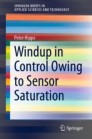 Windup in Control Owing to Sensor Saturation