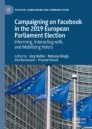 Campaigning on Facebook in the 2019 European Parliament Election