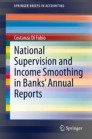 National Supervision and Income Smoothing in Banks' Annual Reports
