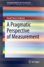 A Pragmatic Perspective of Measurement