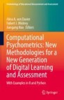 Computational Psychometrics: New Methodologies for a New Generation of Digital Learning and Assessment