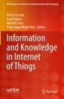 Information and Knowledge in Internet of Things