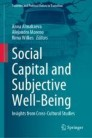 Social Capital and Subjective Well-Being