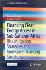 Financing Clean Energy Access in Sub-Saharan Africa