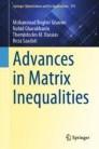 Advances in Matrix Inequalities