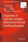 Diagnostic of Concrete Samples Affected by Internal Swelling Reactions