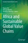 Africa and Sustainable Global Value Chains
