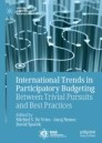 International Trends in Participatory Budgeting