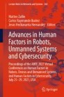 Advances in Human Factors in Robots, Unmanned Systems and Cybersecurity