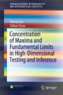Concentration of Maxima and Fundamental Limits in High-Dimensional Testing and Inference