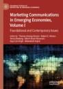 Marketing Communications in Emerging Economies, Volume I