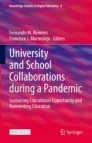 University and School Collaborations during a Pandemic