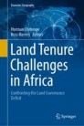 Land Tenure Challenges in Africa