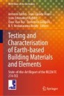Testing and Characterisation of Earth-based Building Materials and Elements