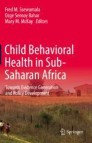 Child Behavioral Health in Sub-Saharan Africa