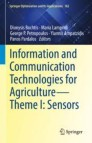 Information and Communication Technologies for Agriculture—Theme I: Sensors