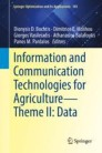 Information and Communication Technologies for Agriculture—Theme II: Data