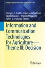 Information and Communication Technologies for Agriculture—Theme III: Decision