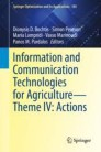 Information and Communication Technologies for Agriculture—Theme IV: Actions