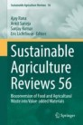 Sustainable Agriculture Reviews 56