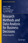 Research Methods and Data Analysis for Business Decisions