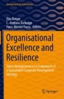 Organisational Excellence and Resilience