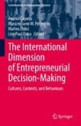 The International Dimension of Entrepreneurial Decision-Making