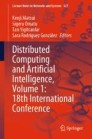 Distributed Computing and Artificial Intelligence, Volume 1: 18th International Conference