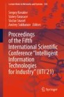 """Proceedings of the Fifth International Scientific Conference """"Intelligent Information Technologies for Industry"""" (IITI'21)"""