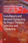 Evolutionary and Memetic Computing for Project Portfolio Selection and Scheduling