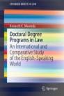 Doctoral Degree Programs in Law