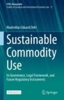 Sustainable Commodity Use