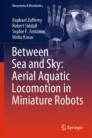 Between Sea and Sky: Aerial Aquatic Locomotion in Miniature Robots