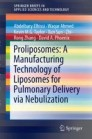 Proliposomes: A Manufacturing Technology of Liposomes for Pulmonary Delivery via Nebulization