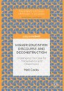 Higher Education Discourse and Deconstruction