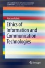Ethics of Information and Communication Technologies