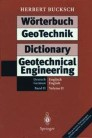 Wörterbuch GeoTechnik Dictionary Geotechnical Engineering
