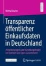 Transparenz öffentlicher Einkaufsdaten in Deutschland