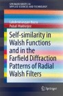 Self-similarity in Walsh Functions and in the Farfield Diffraction Patterns of Radial Walsh Filters