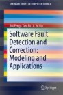 Software Fault Detection and Correction: Modeling and Applications