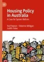 Housing Policy in Australia