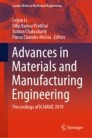 Advances in Materials and Manufacturing Engineering