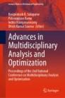 Advances in Multidisciplinary Analysis and Optimization