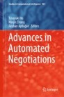Advances in Automated Negotiations