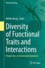 Diversity of Functional Traits and Interactions