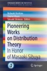 Pioneering Works on Distribution Theory