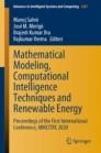 Mathematical Modeling, Computational Intelligence Techniques and Renewable Energy