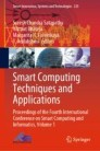 Smart Computing Techniques and Applications